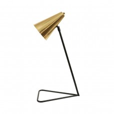 Bloomingville Black Lamp Gold Shade