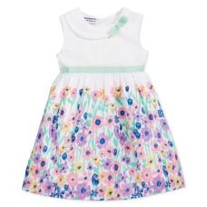 Blueberi Boulevard Baby Girl's Floral-Print Dresses