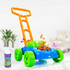 Bubble Lawn Mower Toy with Music and Real Lawn Mover SoundsIndoor and Outdoor Fun and Healthy Exercise for KidsToddlersGirls and Boys