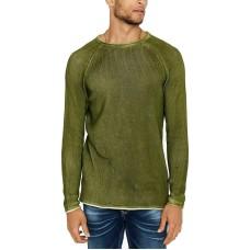 Buffalo David Bitton Men's Walong Regular-Fit Loose-Knit Raglan-Sleeve Sweaters