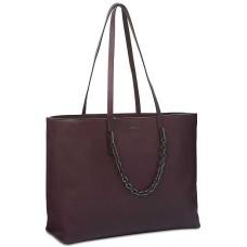 Calvin Klein Hera Extra Handbag Tote (Claret Red)