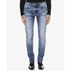 Calvin Klein Men's Slim Fit-Jeans (Snowbird Blue, 30W x 32L)