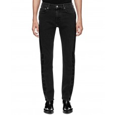 Calvin Klein Men's Slim-Fit Side Stripe Fashion Jeans