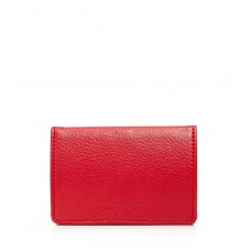 Campo Marzio Pebbled Leather Business Card Holder