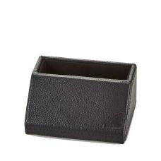 Campo Marzio Pebbled Leather Desk Card Holders