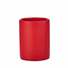 Campo Marzio Round Pebbled Leather Pen Holders