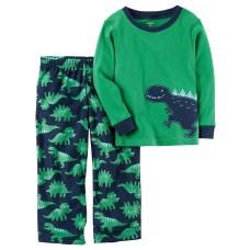 Carter's 2-Piece Boys Fleece Pajamas Top And Pants Winter Sets