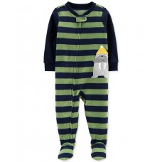 Carter's Baby Boys Fleece Pajamas Jumpsuits