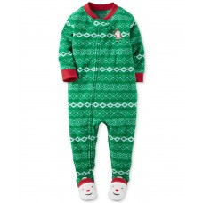 Carter's Boys' 1 Pc Fleece 347g182 Pajama Sets