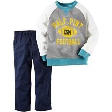 Carters Infant Boys 2-Piece Football Playwear Sweatshirt & Pant Set