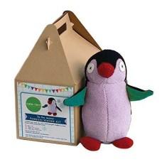 Cate and Levi 10″ Handmade Plush Stuffed Animal Making Kit (Premium Reclaimed Wool)Colors Will Vary