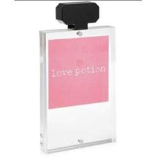 Celebrate Shop 4 x 6 Acrylic Perfume Magnetic Frame Clear/Black