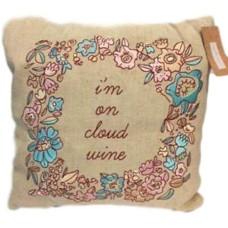 Celebrate Shop Decorative Wine Pillow (Beige)