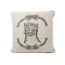 Celebrate Shop Forest Creature Decorative Throw Pillow Fox & Rabbit (Fox)