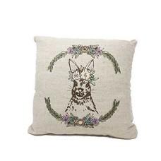 Celebrate Shop Forest Creature Decorative Throw Pillow Fox & Rabbit (Rabbit)