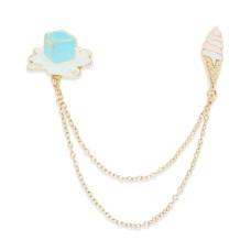 Celebrate Shop Ice Handbag Chain Accessory (Gold Tone)