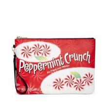 Celebrate Shop Peppermint Crunch Oversized Wristlet Wallet Multi ONE SIZE