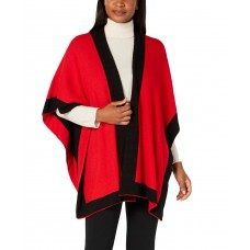 Charter Club Solid Knit Reversible Poncho