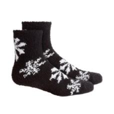Charter Club Women's Snowflake Super Soft Butter Crew Socks