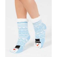 Charter Club Women's Snowman Slipper Socks