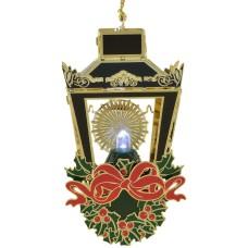 ChemArt Illuminated Christmas Lantern Ornament