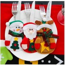 Christmas Joy Silverware Holders (Set of 4)