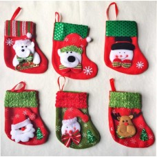 Christmas Joy Stockings (Set of 3)
