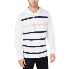 Club Room Mens Hooded Pullover Shirts