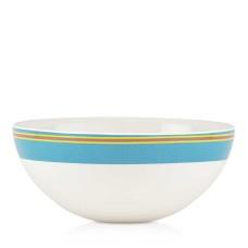 Dansk Cabana Striped Serving Bowl 10″X4″