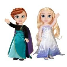 Disney Frozen II – Queen Anna & Elsa The Snow Queen Dolls