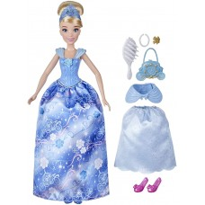 Disney Princess Style Surprise Cinderella Fashion Doll with 10 Fashions and Accessories, Hidden Surprises Toy for Girls 3 Years Old and Up