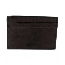 Dkny Men's Suede Card Case (Gray, One Size)