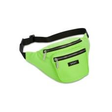 DKNY Zip Belt Bag (Neon Green, S/M)