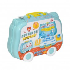 Doctor Set My Bag Suitcase for Online Education and Homeschooling of Toddlers and Children