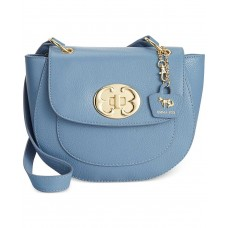 Emma Fox Women's Bayboro Flap Denim Handbag (Display)