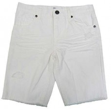 Epic Threads Little Boys' (2T-7) Frayed Denim Shorts White Wash 6