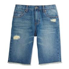 Epic Threads Little Boys' Frayed Destructed Denim Shorts