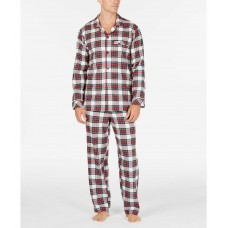 Family Pajamas Men's Stewart Plaid Pajama Sets