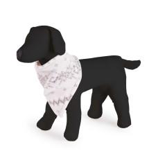 Family Pajamas Pet Bandana (Gray, L/XL)
