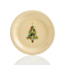 Fiesta Christmas Tree Appetizer Plate