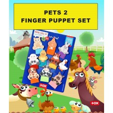 Finger Puppets 10 Pieces for Homeschooling and Preschool Education of Toddlers and Pre-K Children