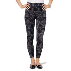 First Looks Women's Bandana Floral Seamless Leggings