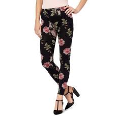First Looks Women's Floral-Print Seamless Leggings