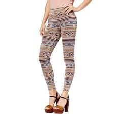 First Looks Women's Geo-Print Stripe Seamless Leggings