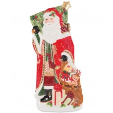 Fitz And Floyd Holiday Tidings Elongated Tray