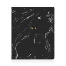 Fringe Black Marble 17 Month Planner