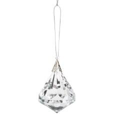 Ganz Kissing Krystal Jewel Shaped Ornament