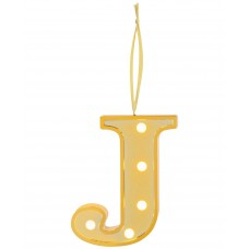 Ganz Led Light Up Marquee Initial Ornaments Letters