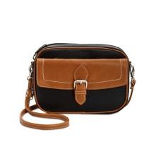 Giani Bernini Leather Convertible Belt Bag (Black)