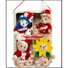 Gund Band of Bears gift set by  Lot of 6 Family size